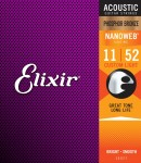 Elixir 16027 Nanoweb Ph.Bronze (011-052)
