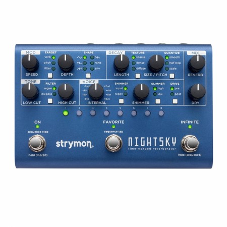 Strymon NightSky Time-Warped Reverberator