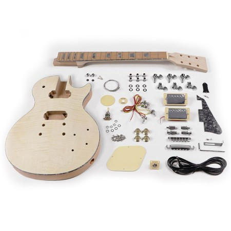 Boston KIT-LP-45 DIY Gitar Les Paul Arched