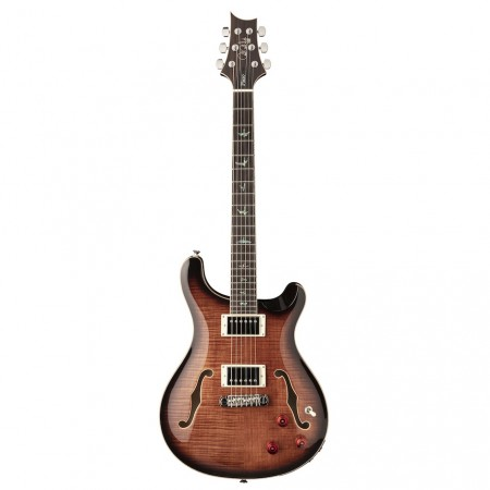 PRS SE Hollowbody-II Piezo Black Gold Burst m/hardcase