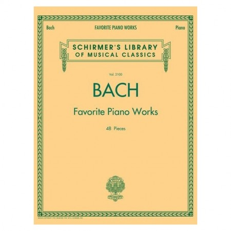 Bach - Favorite Piano Works