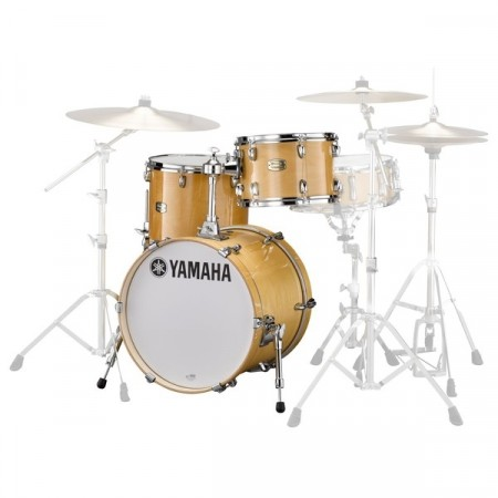 Yamaha Stage Custom Bop Natural Wood Shell Pack