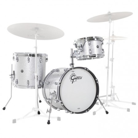 Gretsch USA Brooklyn GB-J483 Silver Sparkle (Shell)