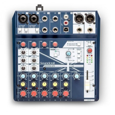 Soundcraft Notepad 8FX Lydmikser
