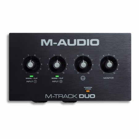 M-Audio M-Track Duo USB Lydkort