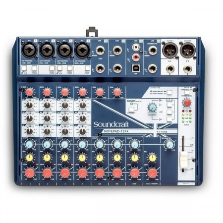 Soundcraft Notepad 12FX Lydmikser
